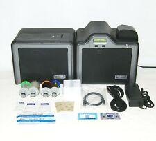 Free Shipping! Fargo Hdpii Duplex Id Card Thermal Printer / Mag Encoder Bundle