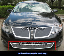 Stainless Steel 1.8mm Mesh Grille For 09-10 Lincoln MKS Bumper