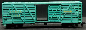 MANTUA: Santa-Fe AT&SF 80680 Die-Cast Base. BLUE STOCK CAR VINTAGE HO