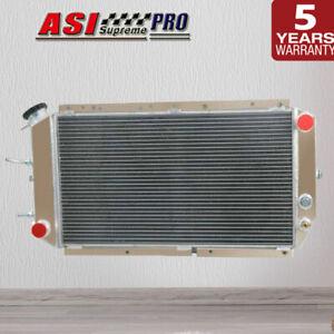 2Cores Aluminum Radiator For Subaru Leone/Brumby 1979-1994 1980 1990 MT