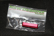 NEW DESIGNZ RAIL DROP FORWARD DUST RED NEW