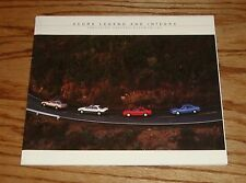 Original 1987 Acura Legend & Integra Sales Brochure 87