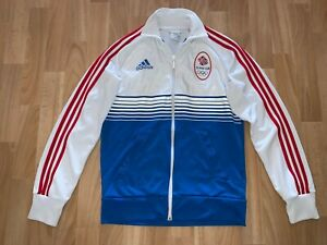2012 Summer Football Olympic Team Great Britain Track Training Jacket Adidas S