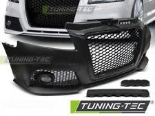 Paraurti anteriore sportivo Tuning AUDI A3 2008 > 2012 tipo RS STYLE Nero