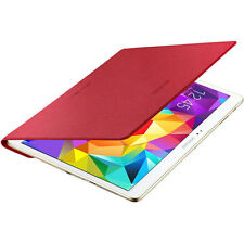 NEW OFFICIAL SAMSUNG GALAXY TAB S 10.5 SLIM FLIP FOLIO CASE COVER RED DT800BREG