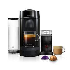 Nespresso Vertuo Plus Limited Edition Black & Aeroccino3 Coffee Machine