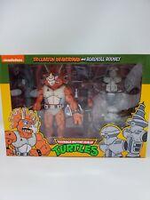 New ListingNeca Triceraton Infantryman and Roadkill Rodney Teenage Mutant Ninja Turtles