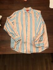 TOMMY BAHAMA DRESS SHIRT MENS SMALL ISLAND MODERN FIT