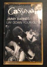 JIMMY BARNES 'LAY DOWN YOUR GUNS' Cassingle Cassette Tape Album