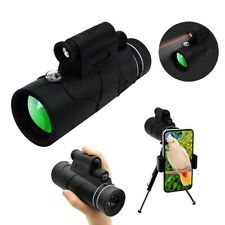 12x Monocular Telescope Starscope Monoculars with Smartphone Holder & Tripod Us