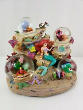 "Disney Store Exclusive - Little Mermaid Ariel ""Under the Sea"" Musical Globe RARE"