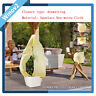 Frost Protection Bag Winter Fleece Warm Cover Protect Plant Tree Garden Shrub TD