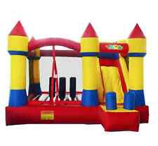 Inflatable Bounce House Castle fun Slide Obstacle Course commercial trampoline