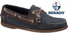 Men's Sebago Navy Nubuck Endeavour Deck/Casual Shoes XMAS CHRISTMAS GIFT