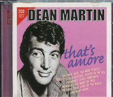 DEAN MARTIN - THAT'S AMORE - on 2 CD's - NEW -