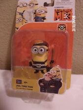 "DESPICABLE ME 3 MOVIE - JAIL TIME TOM - POSEABLE 3"" INCH ACTION FIGURE-NEW"
