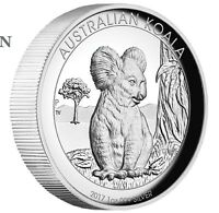 2017 Australian Koala 1 oz Dollar $1 Silver Proof High Relief Coin Australia
