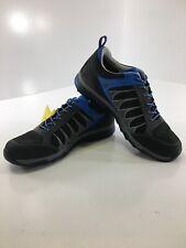 Asolo Mens Blade GV Vibram Megagrip Hiking Shoes Graphite/Black/Blue US:9 NEW @