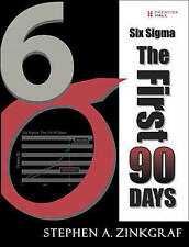 NEW Six Sigma--The First 90 Days (paperback) by Stephen A. Zinkgraf