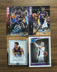 Lot Carte NBA - Los Angeles Lakers