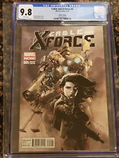 Cable and X-Force #5 1:50 Leinil Francis Yu Variant CGC 9.8