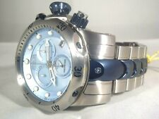 Mens Invicta 15462 Reserve 52mm Venom Swiss Blue MOP Chronograph Bracelet Watch