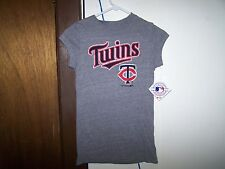Minnesota Twins  SLEEVELESS  Youth T-shirt - MEDIUM  10 -12  MLB