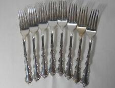 International Silver Angelique Sterling Set of 8 Forks