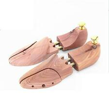 Pair Cedar Wooden Adjustable Shoe Keeper Stretcher Shaper Tree Mens US size 8-9