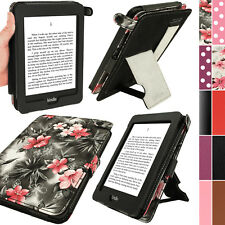 Rosa Eco Pelle Custodia Case Cover per Amazon Kindle Paperwhite 2015 - 2012