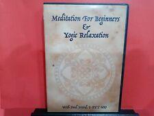 Meditation For Beginners & Yoga Relaxation DVD - B670