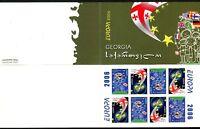 Georgien Markenheftchen mit MiNr. 515-16 postfrisch MNH Cept 2006 (AU1530