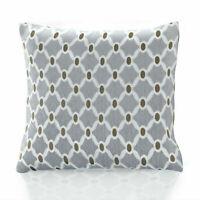 "Berkeley Unfilled Cushion SILVER  Zip Opening Chenille 45cm x 45cm (18"" x 18"")"