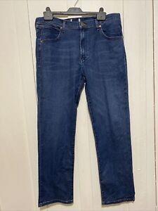 Men's Wrangler Arizona Stretch Blue Denim Jeans W36 L30