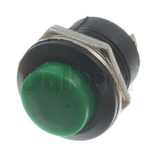 5pcs @$2.60 R13-507 Round Push Button Micro Switch 3A 250VAC Green 2 Pin