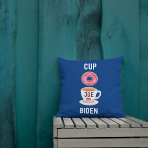 Cup O Joe Biden Premium Pillow