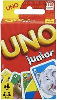 Mattel Uno Junior Famille Amusant Classique Carte Jeu Uno Cartes Set