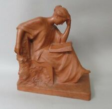 Pierre Curillon sculpture en terre cuite Femme