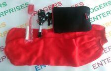 Kingfisher Airlines In-Flight Travel Kit Socks Toothbrush/Paste Mesh Carry bag