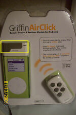 Griffin AirClick Mini Remote Control for iPod Mini