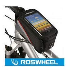 Bicycle Saddle Bag for TouchScreen Phone w/ Earphone Connection Hole.