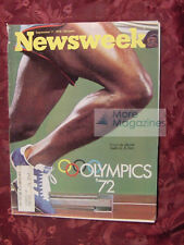 NEWSWEEK September 11 1972 Sept Sep 72 MUNICH OLYMPICS WILLIAM LEVITT YACHT +++