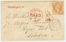 France cover 1865 From Paris to London - Points grill