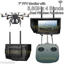 "Lilliput 7"" 329/DW Monitor for FatShark 5.8GHz FPV Aerial Flying Wireless Camera"