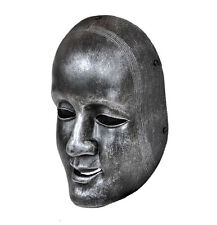 Black Paintball Airsoft  Airsoft Full Face Japanese Noh wild Mask Prop
