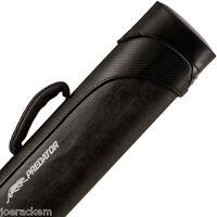 Predator Sport Black 2x4 Pool Cue Case - CSP2x4B  - Black Carbon Fiber