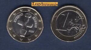 Chypre 2021 1 Euro SUP SPL Pièce neuve de rouleau - Cyprus