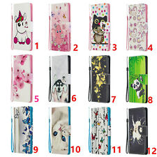 Cute Wallet PU Leather cover strap for Google Pixel 4 4XL 3a XL /One Plus 7Pro