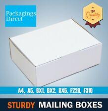 Mailing Box Shipping Carton A4 A5 Small Medium Large Cardboard Mailer