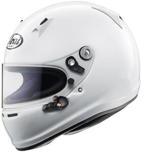 Arai SK-6 (Ohne Anker ) Erwachsene Karting Weiß Helm Pb-Clc Gehäuse Snell K 2015
